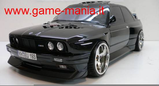 Carrozzeria BMW M3 E30 largh.200mm trasparente PARABOLE by HPI
