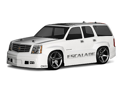 CADILLAC ESCALADE carrozz. passo 255mm lexan trasparente by HPI