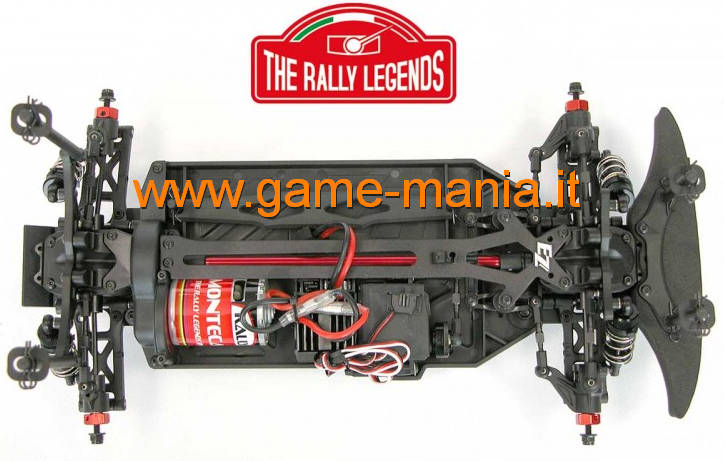 1/10 scale Rally Legends model chassis with motor-esc-servo by EZ