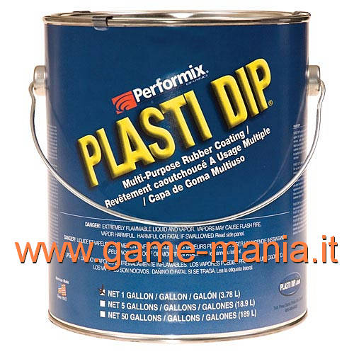 Liquid WHITE rubber in can (3.8lt) PLASTI DIP - waterproof