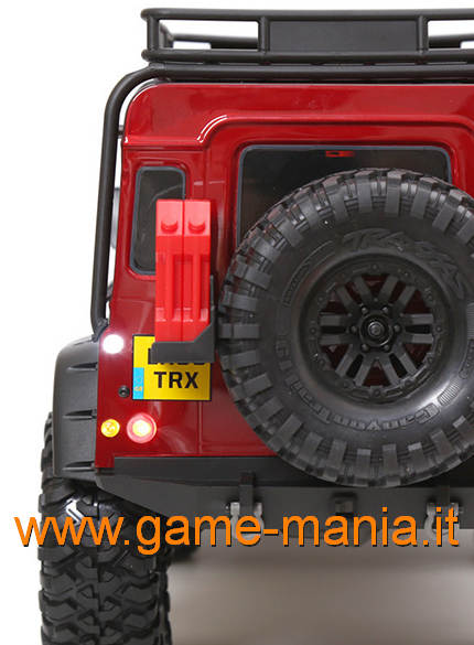 Parabole POST. carrozzeria Defender Traxxas TRX-4 by GRC