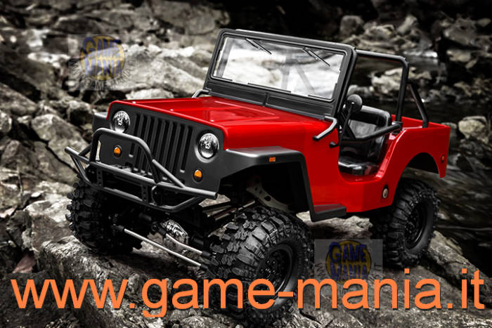Gmade SAWBACK 4LS - scaler 1:10 in kit Jeep a 4-links