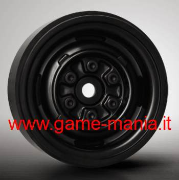 "1.9"" BLACK VR01 rims with real internal beadlock by Gmade (2x)"