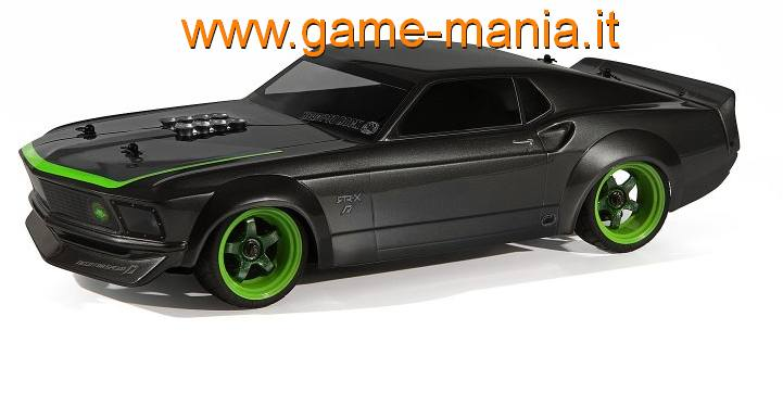 Carrozzeria FORD MUSTANG 1969 RTR-X 200mm trasparente by HPI