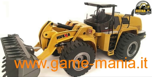 1/14 scale METAL HUINA 583 r/c WHEELED LOADER - MECHANIC