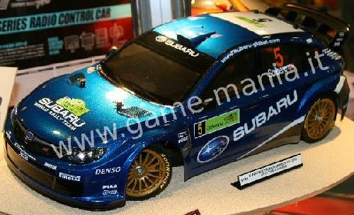 Subaru Impreza WRC 08 clear body w/headlights by Tamiya