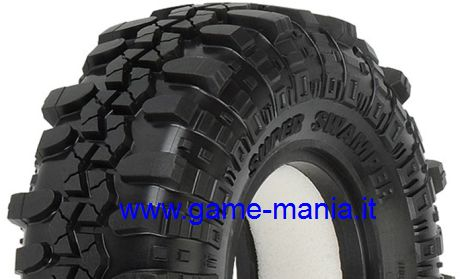 Coppia gomme 1.9 INTERCO TSL SUPER SWAMPER + inserti by Pro-Line