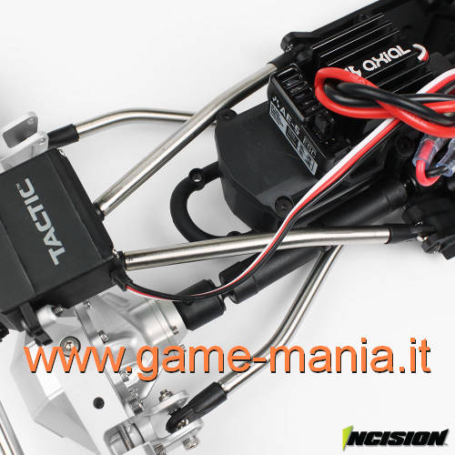 Set di LINKS IN ACCIAIO (8 pezzi) per Axial RR10 o Yeti by Incision