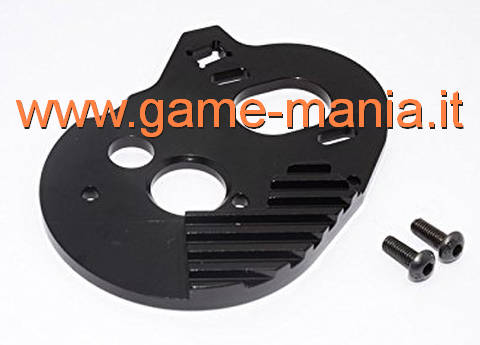 BLACK ALLOY motor mount for Vaterra Ascender by GPM