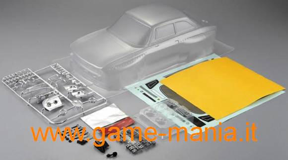 ALFA 2000 GTAm 195mm CLEAR lexan body 1/10 body by Killerbody