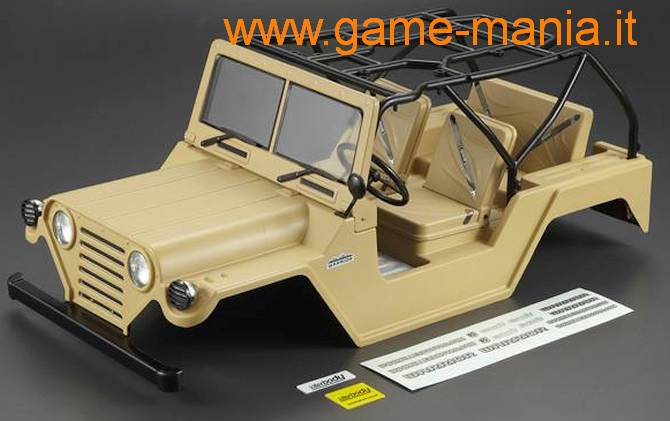 Carrozzeria WARRIOR MIL.BEIGE verniciata e pronta 313mm by Killerbody