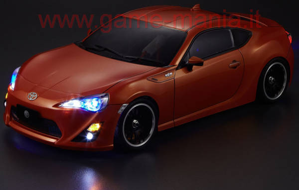 TOYOTA 86 clear lexan body and headlight 195mm by Killerbody