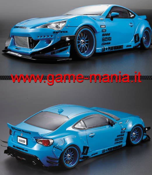 Kit estetico trasp. ROCKET BUNNY per BRX o GT86 by Killerbody