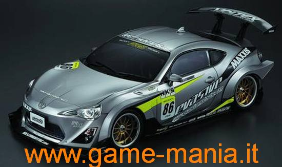 BRZ or GT86 clear lexan AERO bodykit by Killerbody