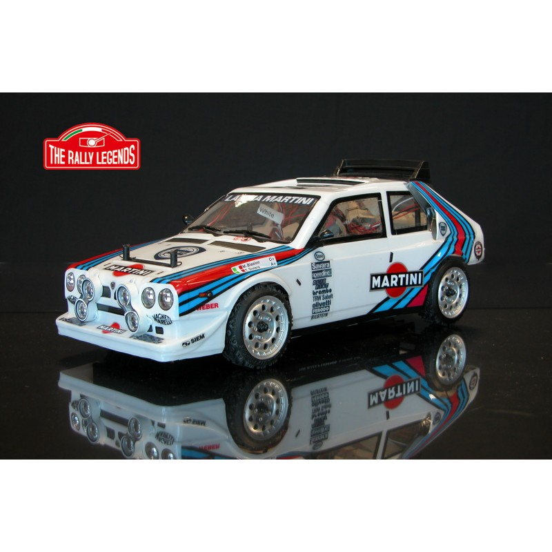 LANCIA DELTA S4 MARTINI painted 1/10 RTR RC model by EZ