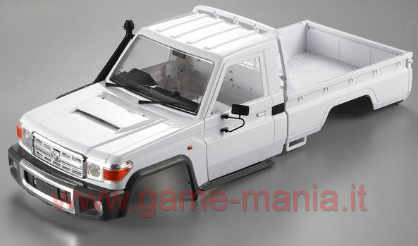 TOYOTA LC70 in ABS passo 313mm per scalers 1:10 by Killerbody