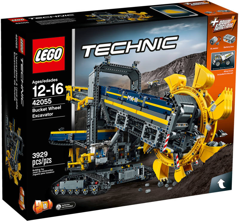 Lego technic BUCKET WHEEL EXCAVATOR - new!