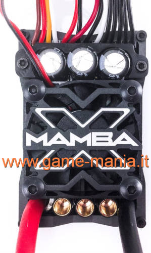 MAMBA X Waterproof ESC - up to 8S by Castle Creations