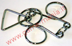 #4 mini wire puzzle metallico