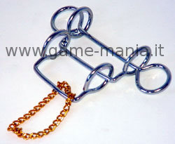 #5 mini wire puzzle metallico