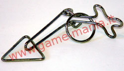 #8 mini wire puzzle metallico