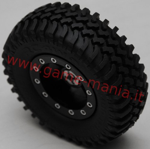 Pair of 1.9 MUD THRASHERS tires with inserts by RC4WD