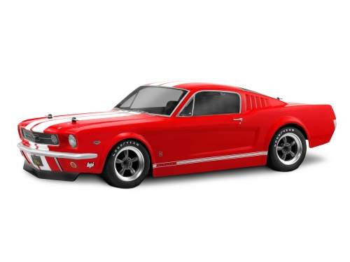 Carrozzeria FORD MUSTANG GT 1966 200mm trasparente by HPI