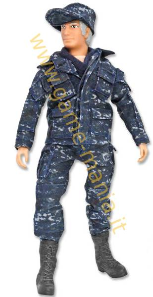 Figurino snodato per automodelli scala 1:10 NAVY by Mego