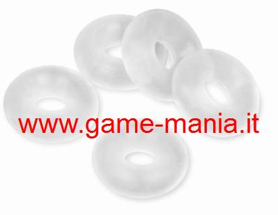 O-rings silicone da 2mm interno 4mm esterno (10 pz.) by GPM