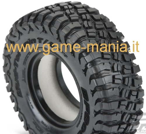 Coppia gomme 1.9 BFGoodrich KM3 106mm Classe 1 mescola G8 by Pro-Line
