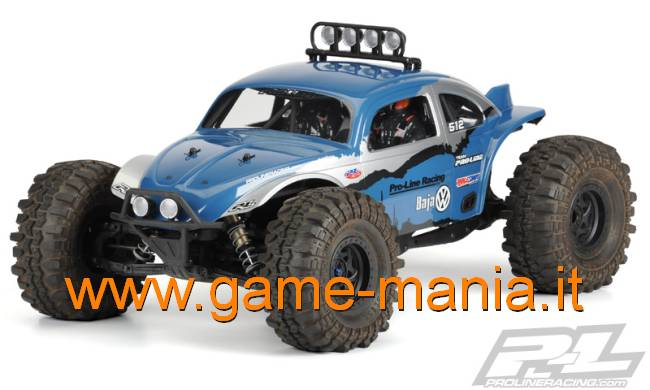 BAJA BUG VW clear body for 1/10 Axial Yeti by Pro-Line