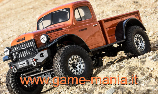 Dodge POWER WAGON 1946 IN DUE PEZZI passo 312mm by Pro-Line