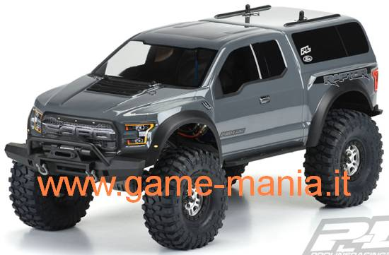 "FORD RAPTOR F-150 12.8"" clear lexan body by Pro-Line"