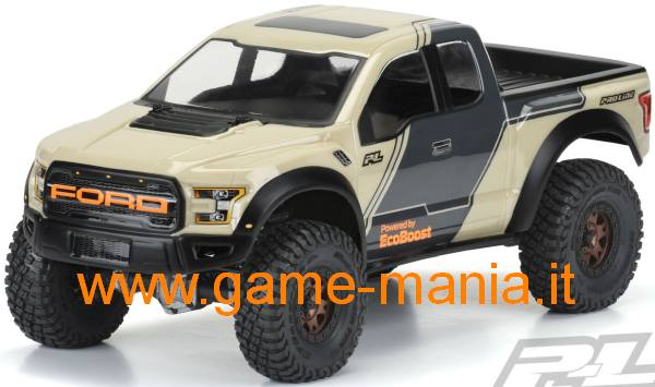 FORD RAPTOR F-150 2017 lexan traspar. passo 313mm by Pro-Line