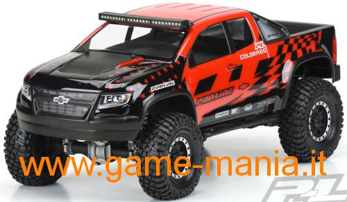 CHEVY COLORADO trasparente passo 313mm by Pro-Line