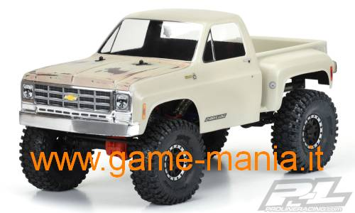 Chevrolet K-10 1978 IN DUE PEZZI passo 313mm by Pro-Line