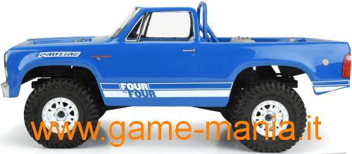 Carrozzeria DODGE RAMCHARGER 1977 PICKUP o SUV 313mm 1:10 by Pro-Line