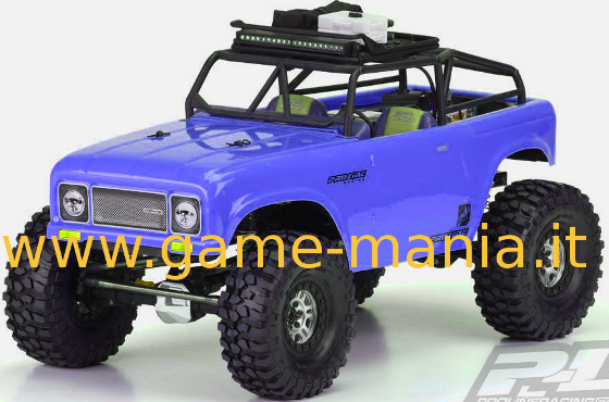 Carrozzeria AMBUSH con rollbar x scalers 1:10 passo 312mm by Pro-Line