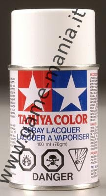 Vernice spray BIANCO PS-1 per lexan by Tamiya