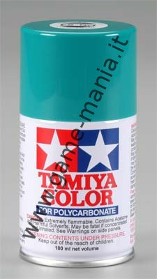 Vernice spray VERDE COBALTO PS-54 per lexan by Tamiya