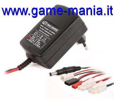 Quick charger for model battery packs 220V by Robitronic