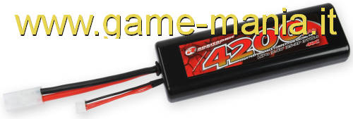 4200Mah LiPo stick pack 7,4V 40C battery w/Tamiya connector by Robitronic