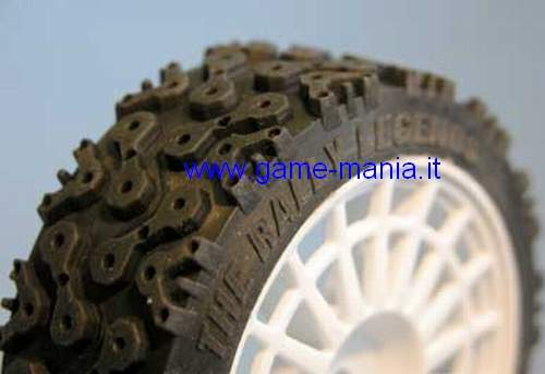 4 gomme da rally in mescola morbida da 26mm per auto 1:10 by EZ