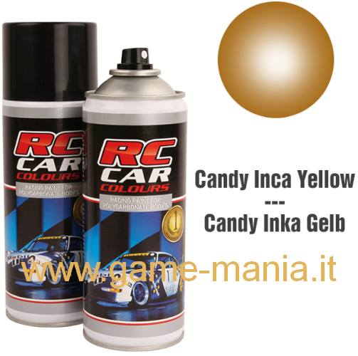 Vernice spray ORO CANDY x policarbonato 150ml by Ghiant