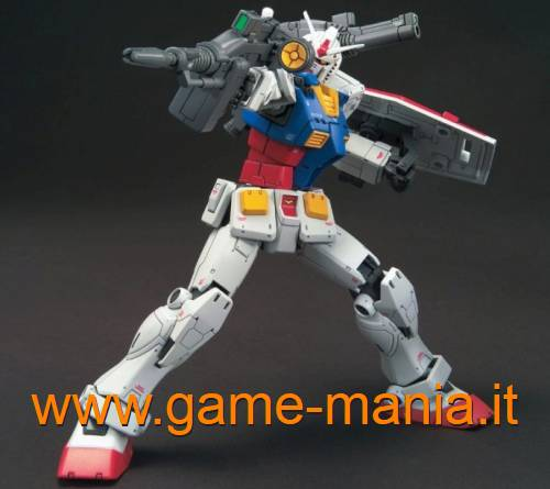 RX-78-02 GUNDAM serie HG THE ORIGIN 1/144 kit by Bandai