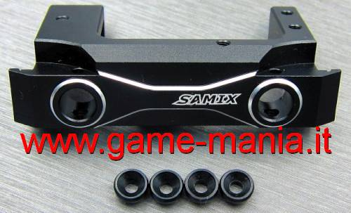 Supporto servo AVANZATO IN LEGA per Axial SCX-10 II by Samix