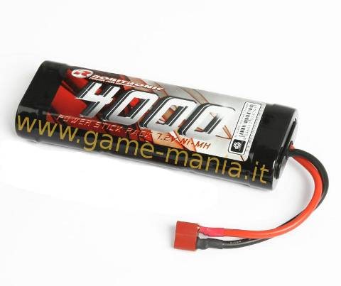 Batteria 7,2V stick pack 4000Mah Ni-Mh con DEANS by Robitronic