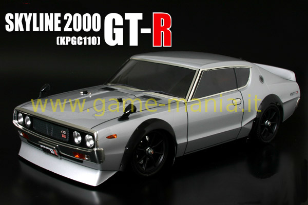 Clear VINTAGE Nissan Skyline GT-R KPGC110 body by ABC Hobby
