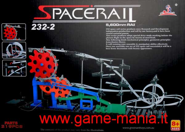 Spacerail 232-2 - montagne russe casalinghe in kit !