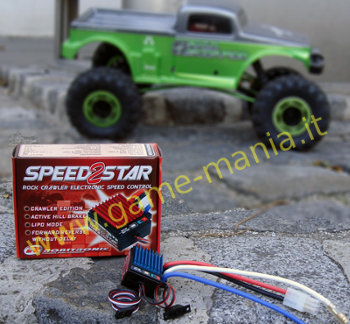 Robitronic Speedstar2 ESC with instant reverse and brake